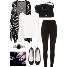 #64 by prodxch on Polyvore featuring MANGO, River Island, Zara, Nine West and Trilogy