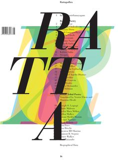 Rattapallax 16 - Erik Brandt / Typografika