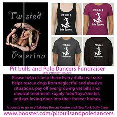 Fundraiser: Pit Bulls and Pole Dancers Black by TwistedPolerina
