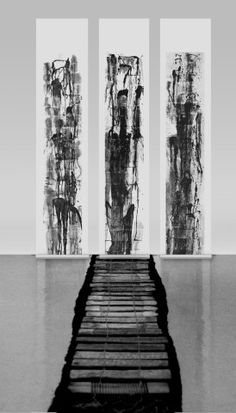 High Mountains and Flowing Water, Installation 高山流水,装置