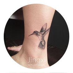 bird tattoo. find artist in Shanghai via wechat: tattootherapy