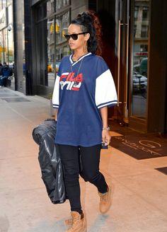 #Rihanna #timberland #boots #femme | Tumblr