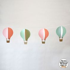 Hey, I found this really awesome Etsy listing at https://www.etsy.com/listing/126376436/garland-kit-hot-air-balloons