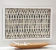 Lasercut Paper Wall Art #potterybarn