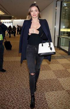 ミランダ・カー来日、笑顔で成田空港に到着!#ボブ #髪型 | 海外セレブ&セレブキッズの最新画像・私服ファッション・ゴシップ | Jinclude