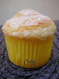 Muffins de mascarpone Cupcakes, Cupcake Cookies, Sweet Recipes, Snack Recipes, Dessert Recipes, Snacks, Pie Pops, Bread Machine Recipes, My Dessert