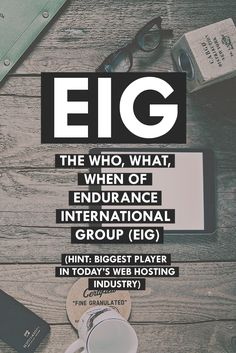 Who the heck is EIG? What web hosting companies are under EIG? Is your current web host under this company? Learn what it is all about here: http://www.webhostingsecretrevealed.net/blog/hosting-updates-news/the-who-what-when-of-endurance-international-group-eig/?utm_source=googleplus&utm_medium=post&utm_campaign=twelveskip