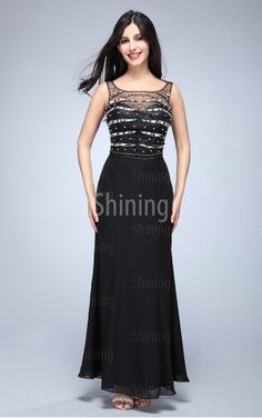 special long black dress