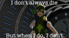 #Artemis Crock on Young Justice what an episode of #YJ - WOW!