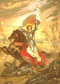 St Joan of Arc - A romanticized epiction