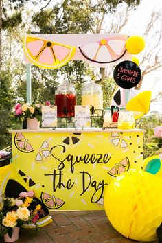 Lemonade Stand Kids Birthday Party - Finance tips, saving money, budgeting planner Summer Birthday, 1st Birthday Parties, Birthday Kids, Pink Birthday, Kids Lemonade Stands, Lemonade Stand Sign, Pink Lemonade Party, Lemonade Bar, Pink Lemonade Baby Shower Ideas