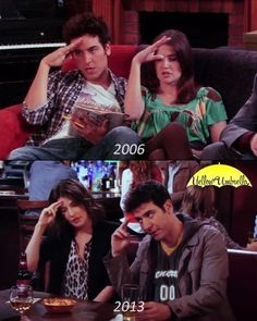 And yet people dare to say they were not endgame. HIMYM could only end this way. How I Met Your Mother, Movies And Series, Best Series, Tv Series, Classic Series, Stranger Things Natalia Dyer, I Meet You, Told You So, Himym Memes