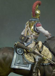French Napoleonic heavy cavalry