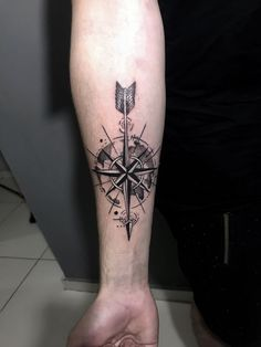 - You are in the right place about (notitle) Tattoo Design And Style Galleries On The Net – Are The - Hand Tattoos, Tattoos Arm Mann, Arrow Tattoos, Arm Tattoos For Guys, Unique Tattoos, Body Art Tattoos, Sleeve Tattoos, Compass Tattoo Forearm, Tribal Forearm Tattoos