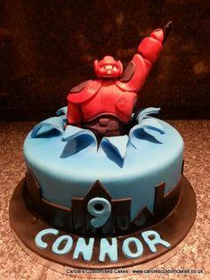 Big hero 6 cake. The perfect celebration cake for superhero fans.