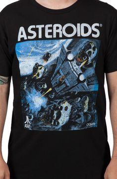 Atari Asteroids T-Shirt: Video Games Atari T-shirt #gaming #gamer #shirts #clothing #oldschool