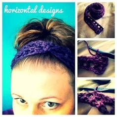 10-Minute Crocheted Headband | AllFreeCrochet.com