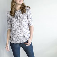 aimecommemarie Aime Comme Marie, Blouse, Sewing Patterns, Lace, Long Sleeve, Sleeves, Magellan, Tops, Women