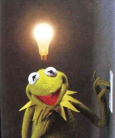 Muppet Mindset: Weekly Muppet Wednesdays: Kermit the Frog Jim Henson, Cute Memes, Funny Memes, Sapo Kermit, Les Muppets, Sapo Meme, Frog Meme, Fraggle Rock, The Muppet Show