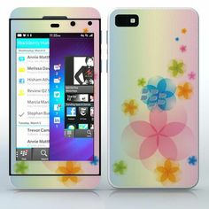 The Magic of July  Cute little flowers  phone skin sticker for Cell Phones / Blackberry Z10 | $7.95