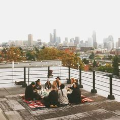 rooftops & good friends.