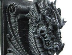 Evil Dragon Bookends