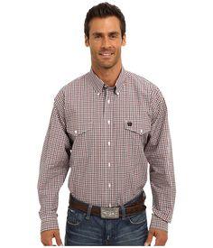 Clad in a classic Cinch® shirt, you'll feel like a new man.