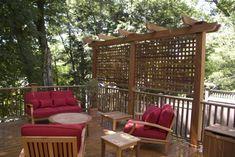 Garden Design: Garden Design with Outdoor Privacy Screen Ideas ...