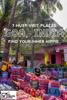 Are you wondering what places to see in Goa, India? Here are some suggestions on things to see and do to find the true Hippie vibe. Goa Travel, India Travel Guide, Travel Blog, Travel Tips, Travel In India, Quick Travel, Pakistan Travel, Travel Articles, Ultimate Travel