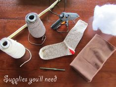 How to make a stick hobby horse | Chickabug. simple and inexepensive