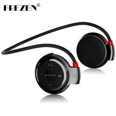 FREZEN Wireless Bluetooth Headphones Mini 503 Fm Radio Headphone Sport Music Stereo Earpics Micro SD Card Slot headset mini503 #Affiliate