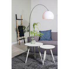The table is made of recycled wood and give your living room a trendy and unique vintage look. Cosy Sofa, Sit Back And Relax, Decoration Design, Lounge, Recycled Wood, Wood Furniture, Your Space, Ladder, Modern Design
