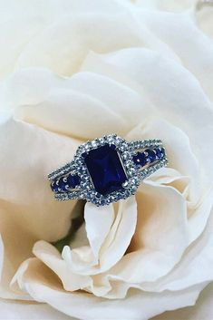 15 Top Zales Engagement Rings That Everybody Likes ❤️ zales engagement rings sapphire emerald cut ❤️ More on the blog: https://ohsoperfectproposal.com/zales-engagement-rings/ #sapphireengagementrings
