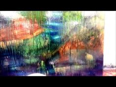 5 minute abstract painting technique - THE DRIP EFFECT - YouTube