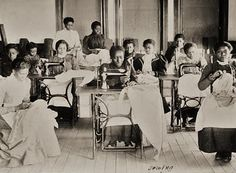 19th-century American Women: Photo Archives - African American Women at Work & School in the 1890s