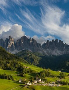 Western part of Dolomites