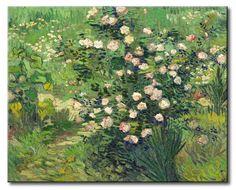 MU_VG2060 t_Van Gogh _ Roses / Cuadro Flores, Rosas