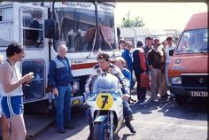 Le Castelet GP 500 Barry Sheene 1984