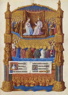 Folio 126r - Paradise.jpg Très Riches Heures du Duc de Berry