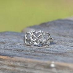 Pandora Heart Infinity Ring – I love this one so much!