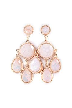 Delphi Chandelier Earrings in Opalescence