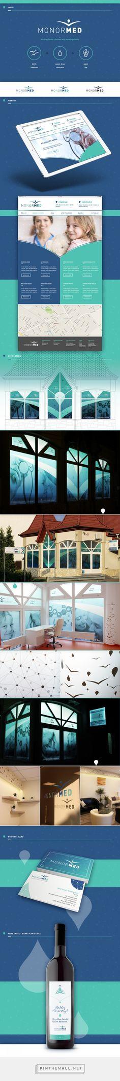 MonorMED medical clinic - identity & decoration on Behance by Virag Veszteg