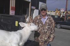 A rare white deer was recently taken in Tift County, GA by a local hunter. White deer carry superstition in some states, but are illegal to hunt in others.