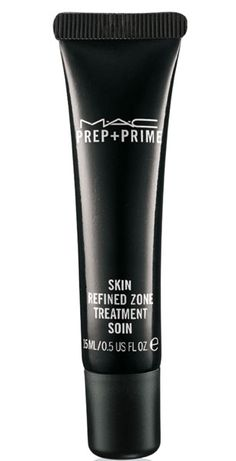 MAC Prep + Prime Skin Refined Zone. Tiniest dab before foundation minimizes visible pores, MAGIC.