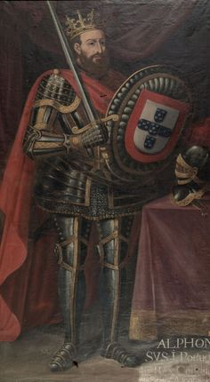 """Dom Afonso tambem chamado """"O Conquistador"""" - Primeiro Rei de Portugal (nicknamed """"the Conqueror"""", was the first King of Portugal. History Of Portugal, Spain And Portugal, Conquistador, Portuguese Culture, Portuguese Empire, Old Portraits, Knights Templar, European History, Kaiser"""