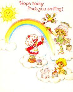 SSC, Lime Chiffon, & Apple Dumplin Painting Rainbow