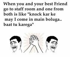 Ill come wth ewu bt I wont spell even a word Funny School Jokes, School Humor, Funny Jokes, Hilarious, Desi Humor, Desi Jokes, Wale Quotes, Be Like Bro, Crazy Friends