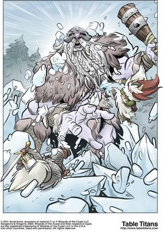 Winter of The Iron Dwarf - Page 89 Storm Kings Thunder, The Elf, Dwarf, Elves, Fairy, Creatures, Iron, Comics, Winter