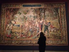 "We're live-tweeting from the ""#GrandDesign: Pieter Coecke van Aelst and Renaissance Tapestry"" press preview! @metmuseum"