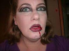 Image result for easy thriller makeup
